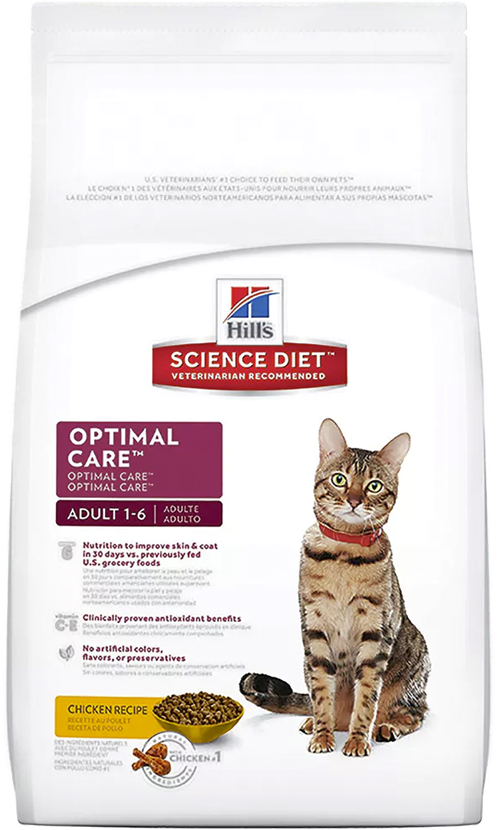 Hills Feline Adult Optimal Care Original